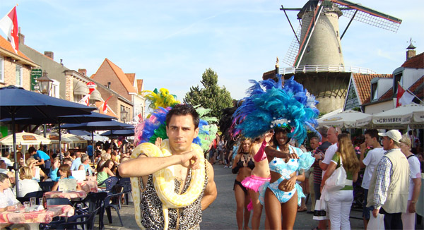tropical thema feest